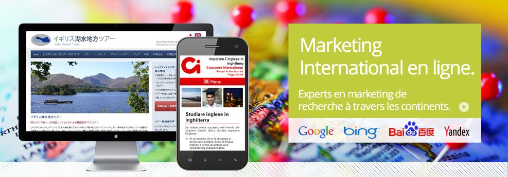 Marketing International en ligne